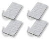 4 x Tens Ems Electrodes Pads 50 x 90 mm Self Adhesive for Tens Machine * Electric Muscle Stimulator