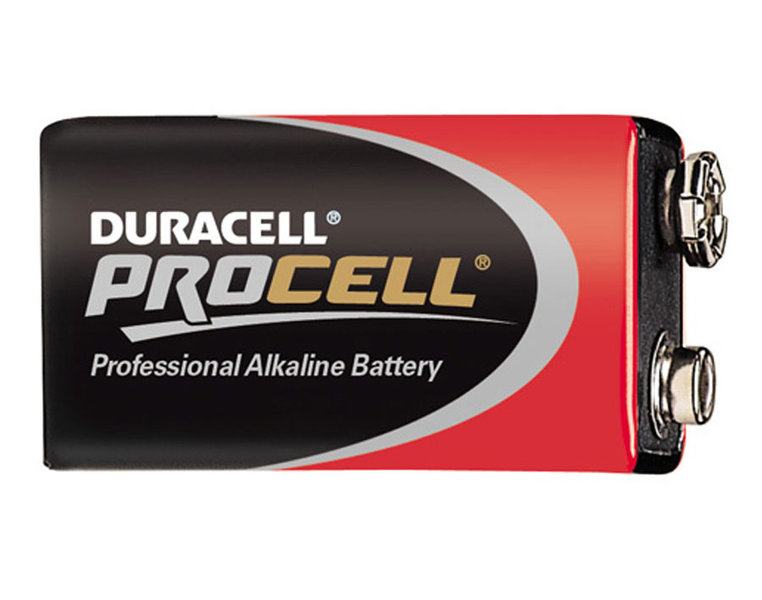 9v duracell procell block batterie. Black Bedroom Furniture Sets. Home Design Ideas
